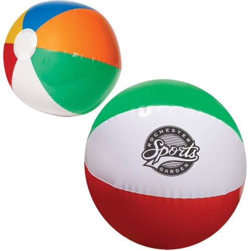 AD013966 Multi Colored Beach Ball  16""