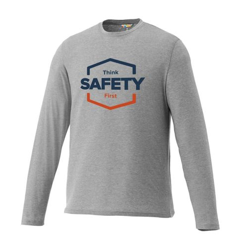 "NS013575 ""Think Safety First""  Long Sleeve Tee"
