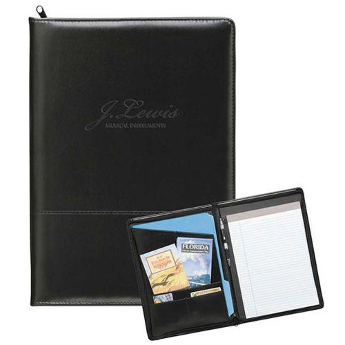 AD010055 Zippered Padfolio
