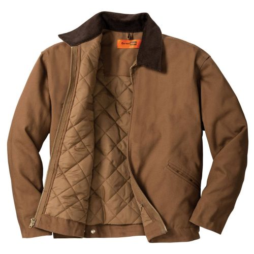 Duck Cloth Lined Work Jacket