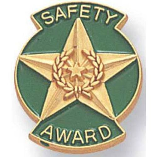 "AD010274S ""Safety Award"" Lapel Pin"