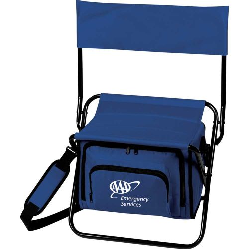 Deluxe Folding Cooler Chair
