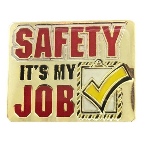 AD010951S Safety It's My Job - Lapel Pin