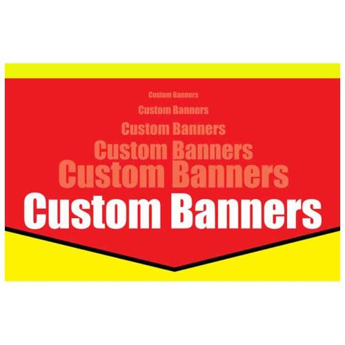 CUSTOM Banners w/ your artwork