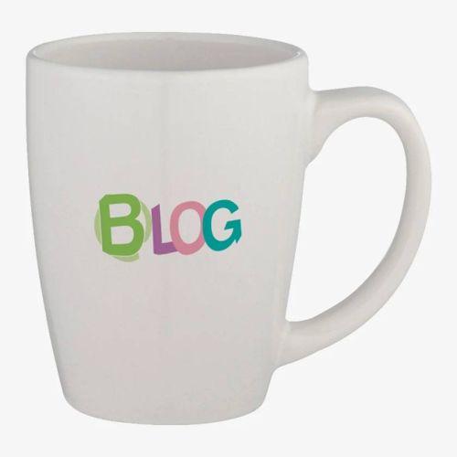 Tapered Ceramic Mug