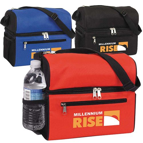AD011771 Deluxe Dual Compartment Lunch Cooler