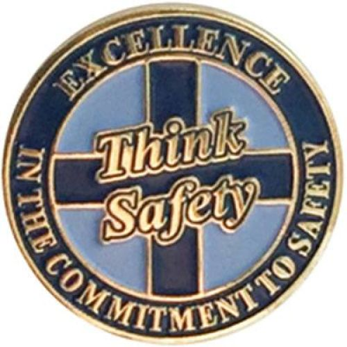 AD012329S Safety Commitment-  Lapel Pin