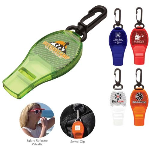 AD013500 Safety Reflector Whistle