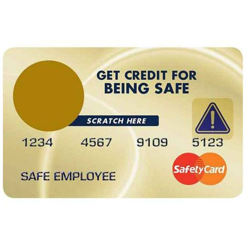 AD013585 Get Credit for Safety  Scratch Off Cards
