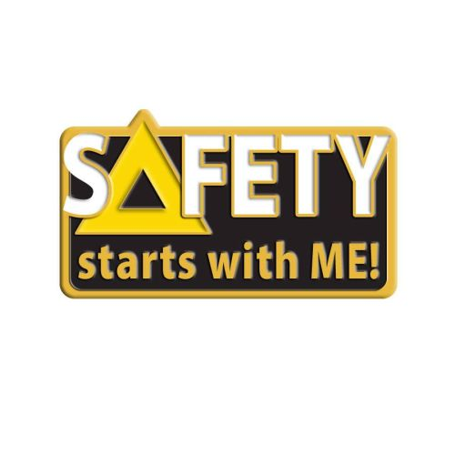 AD013816S Safety Starts with Me -  Lapel Pin