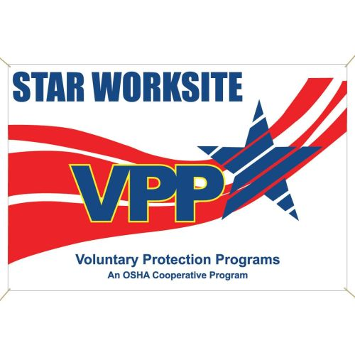 VPP Star Worksite Banner