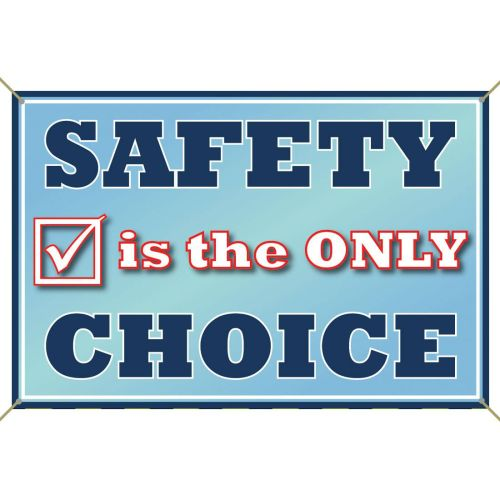 AD0138473 Safety Is the Only Choice Banner