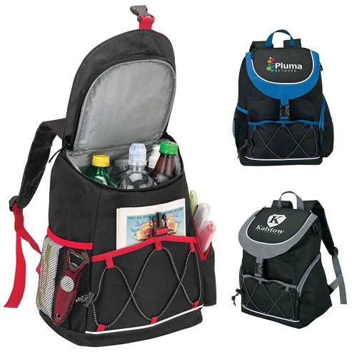 AD0138516 PEVA Lined Backpack Cooler