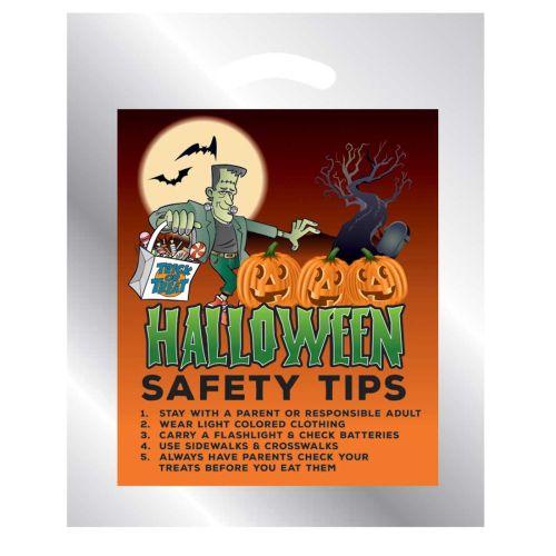 AD0138526 STOCK DESIGN- Halloween Reflective Treats Bag