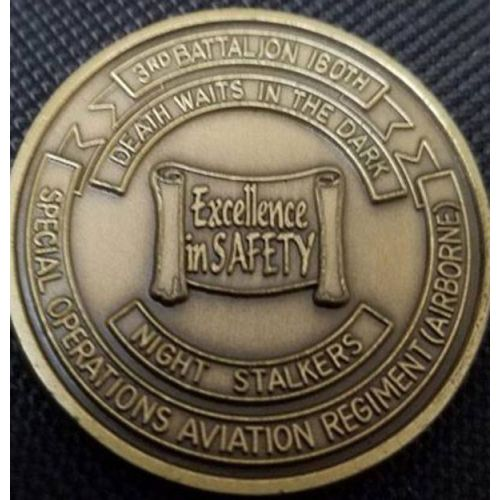 AD013304 Custom Safety Challenge Coin- 1.5""