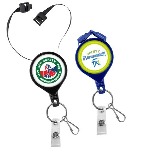 AD013566 Retractable Breakaway  Lanyard