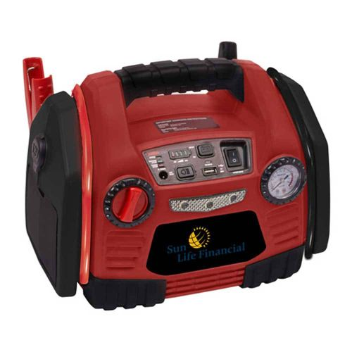 AD013660 Power Station w/Air Compressor/200W Inverter