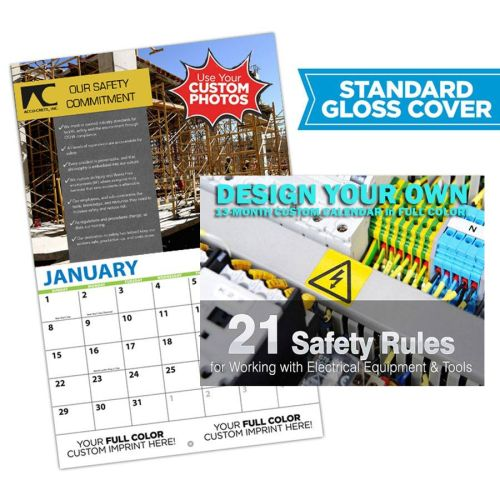 AD0138561 Custom Safety Photo Wall Calendar
