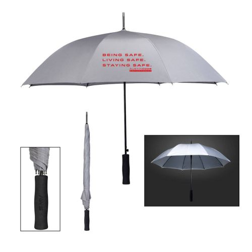 AD0138588 Rain Delay Reflective Fiberglass Umbrella