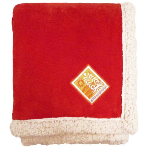 AD0138614 Deluxe Lambswool Blanket Throw