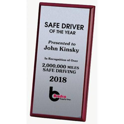 AD0138643 Rosewood Safety Recognition Plaque