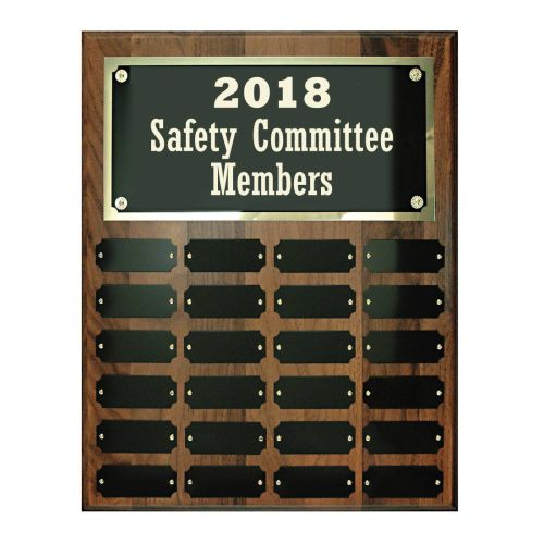 AD0138663 12x15 Perpetual Safety Plaque