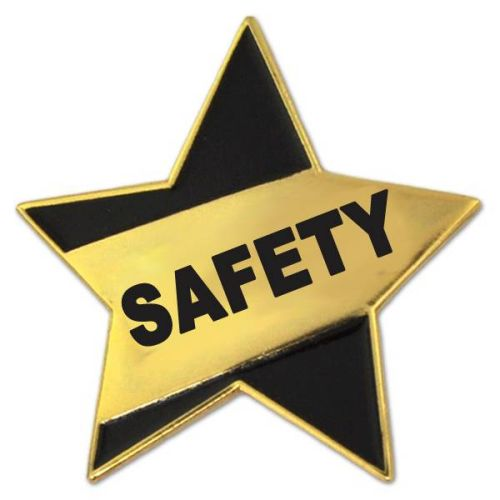 AD0138688 Safety Star Lapel Pin