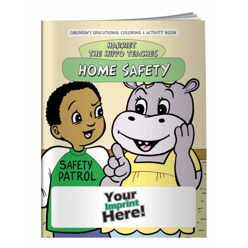 AD0138696 Coloring Book - Home Safety