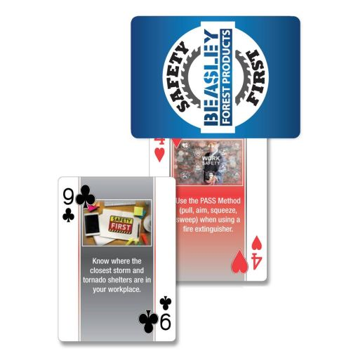 AD0138702 Safety Playing Cards