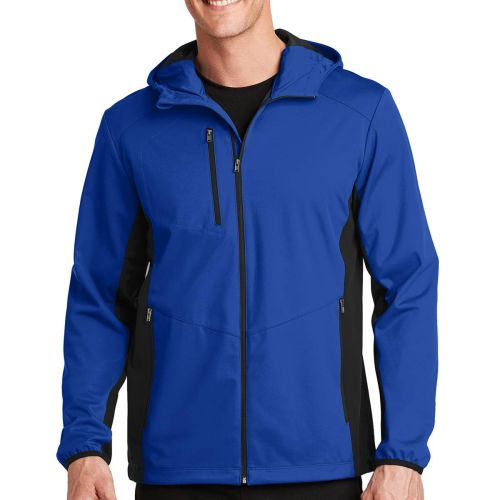 AD0138703  Authority® Active Hooded Soft Shell Jacket