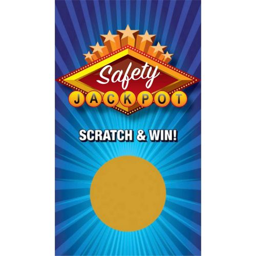 AD0138705 Safety Jackpot Scratchoff
