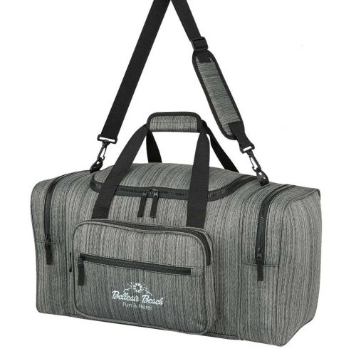 AD013964 HEATHERED DUFFEL BAG 21""