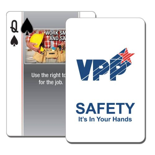 NS0138703 VPP Safety Themed Playing Cards
