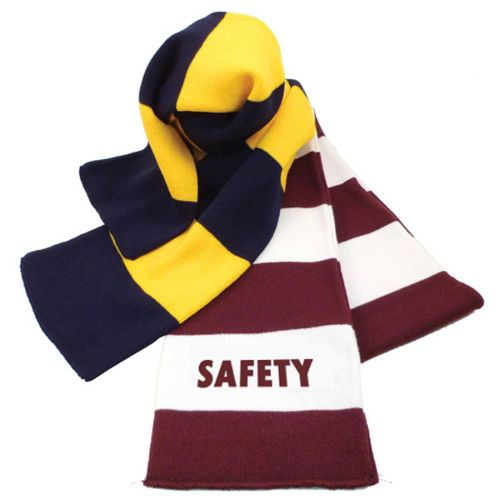 "NS0138707 ""SAFETY"" Logoed Scarf"