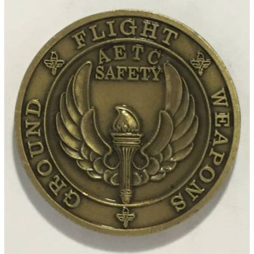 Custom Safety Challenge Coin - 2