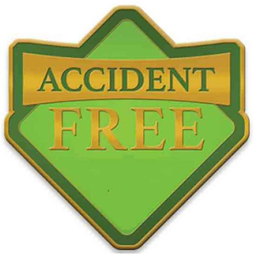 AD013819S Accident Free Lapel Pin