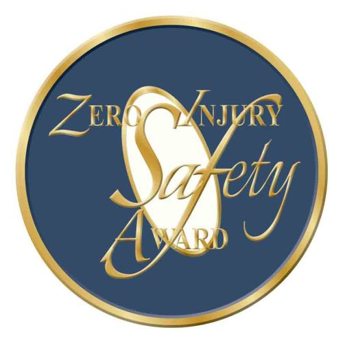 AD013827S Zero Injury Lapel Pin