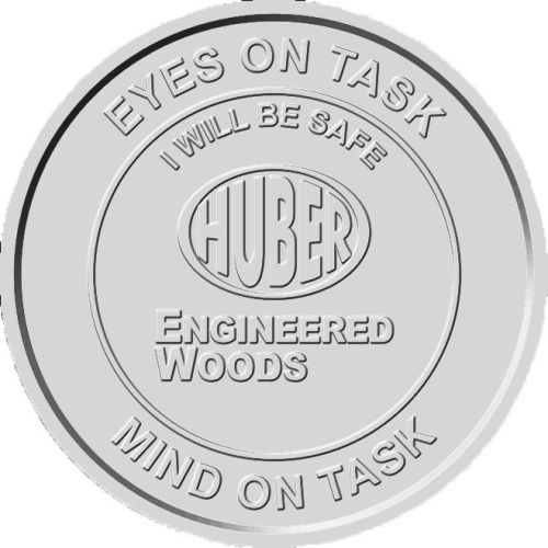AD0138642 2 inch Custom Aluminum Safety Coins
