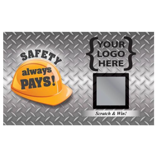 AD0138706 Safety Always PaysSafety Scratch Off