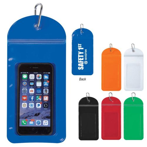 AD0138727 Splash Proof Phone Pouch with Carabiner