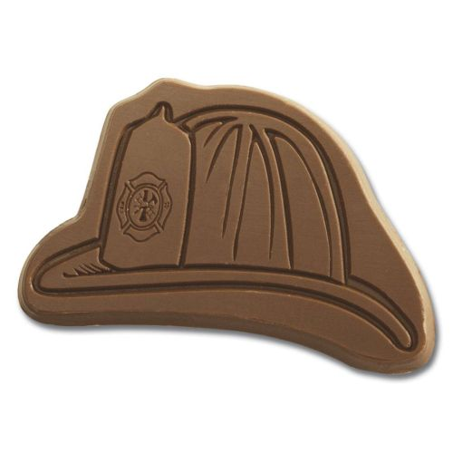 AD0138841 Fire Hat Chocolate Shape