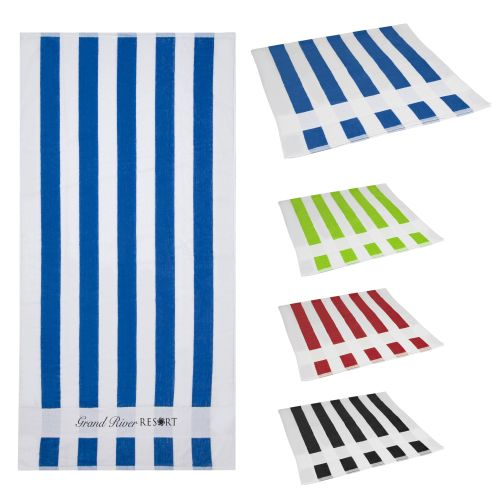 AD0138868 Striped Beach Towel