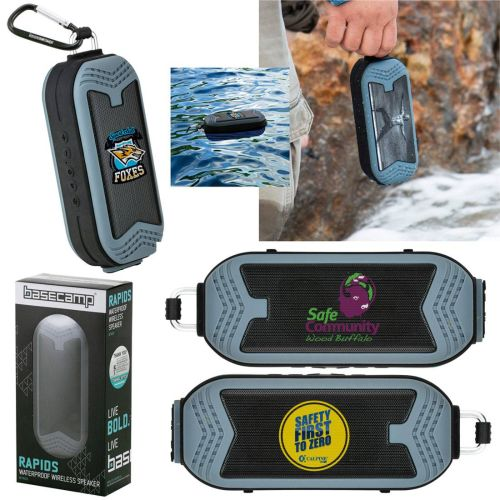 AD0138870 Basecamp® Rapids Waterproof Wireless Speaker
