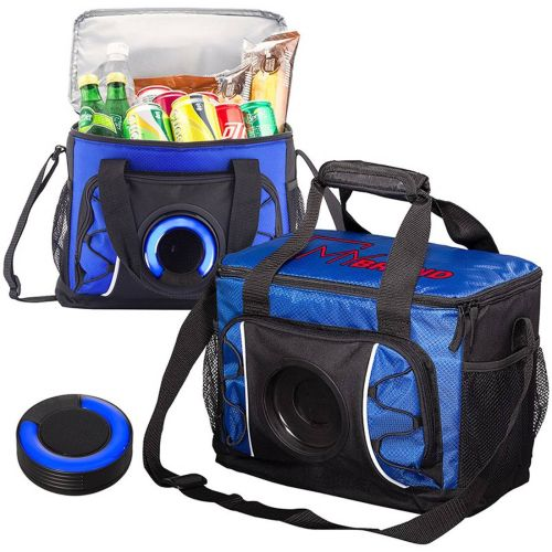 AD0138887 24 Can Cooler Bag with Wireless Speaker