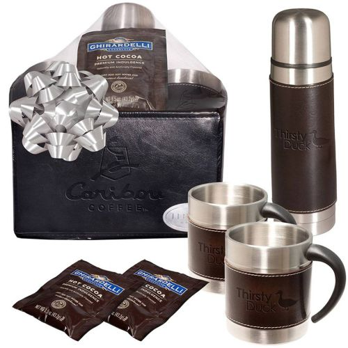 AD0138893 Empire Thermal Bottle & Cups Ghirardelli® Cocoa Set