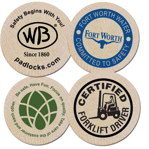 AD01388992 Safety Wooden Nickel