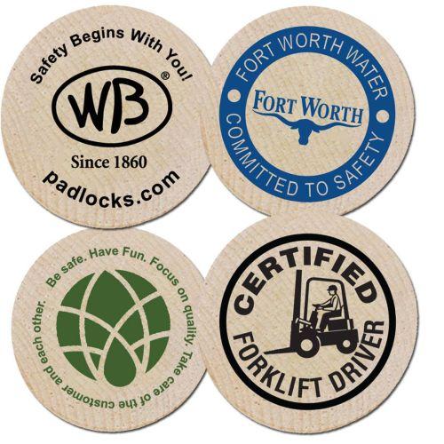 AD01388992 Safety Wooden Nickel