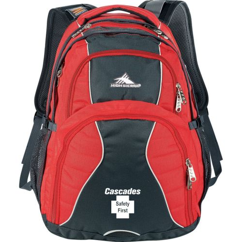 "AD01389000 High Sierra Swerve 17"" Computer Backpack"