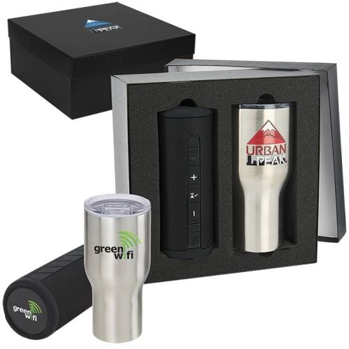 AD01389108 Poolside 30oz Tumbler & Speaker Gift Set