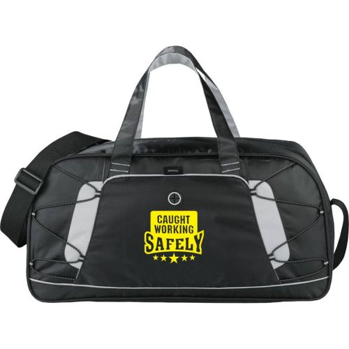 NS011535 CAUGHT WORKING SAFELY- Sport Duffel Bag